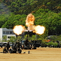 155mm榴弾砲 FH-70射撃