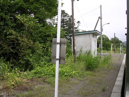 紋穂内駅ホーム