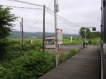 初野駅ホーム
