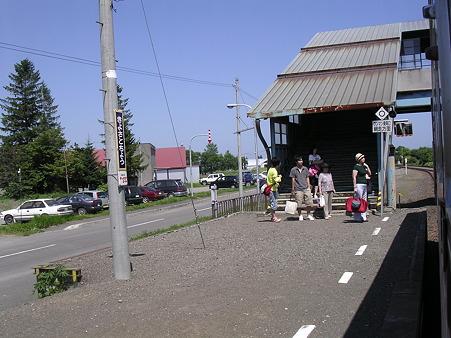 清里町駅8