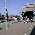 写真: 清里町駅8