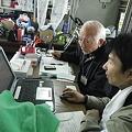 写真: 山元町役場 りんごラジオ ブログのレクチャー