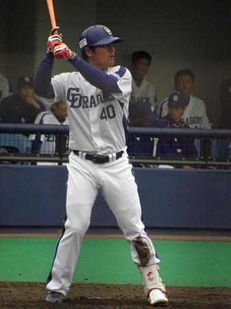 087 平田の打席に、期待を持ってます