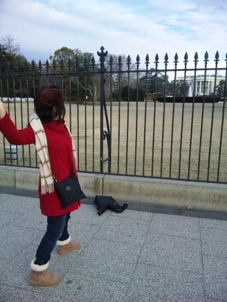Photos: WH前なう!寒い!王子様早...