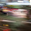Photos: 街の車の流し撮り