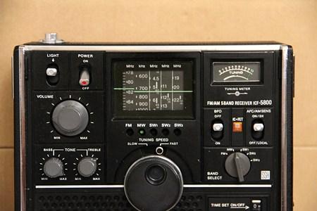ICF-5800正面その2