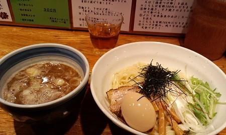 味玉つけ麺@麺や庄の