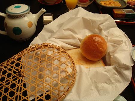 朝食のパン@強羅花壇