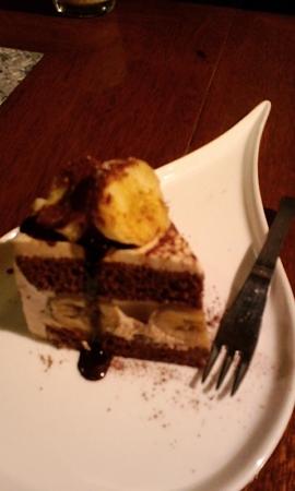 バナナ的なケーキ@EMPORIO