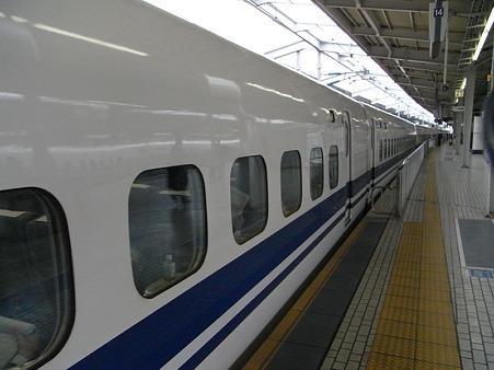 のぞみ13号発車(新大阪駅)