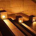 階段の光と影