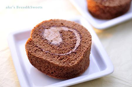 チョコロールケーキ2