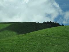 雲影が行く車山高原