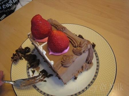 ハーフシートチョコレートケーキ断面ブロックIMG_8682
