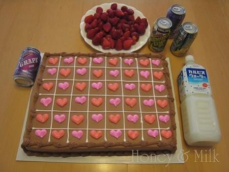 ハーフシートチョコレートケーキIMG_8674