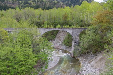 旧士幌線第五音更川橋梁