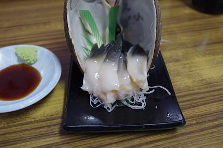 マルトマ食堂 ホッキ刺身
