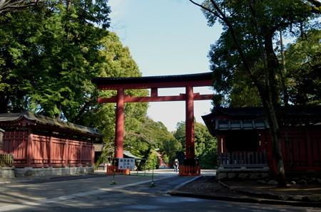 氷川神社(さいたま市)・三の鳥居