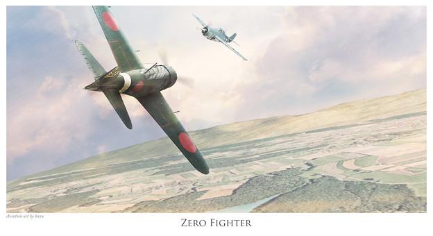 Zero vs F4F