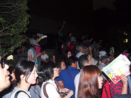 2014/07/01集団的自衛権行使閣議決定・国会議事堂前
