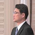 写真: 河野俊嗣新知事就任の日6