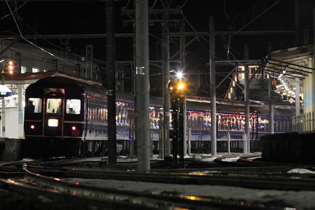上越線 水上駅 寝台特急北陸 最終日