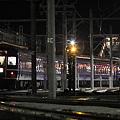 Photos: 上越線 水上駅 寝台特急北陸 最終日