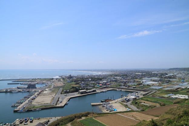 Photos: 飯岡刑部岬展望館~光と風~からの眺望 5月8日