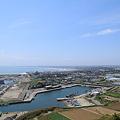 写真: 飯岡刑部岬展望館~光と風~からの眺望 5月8日