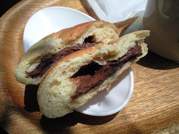 渋谷のチョコクリームパン