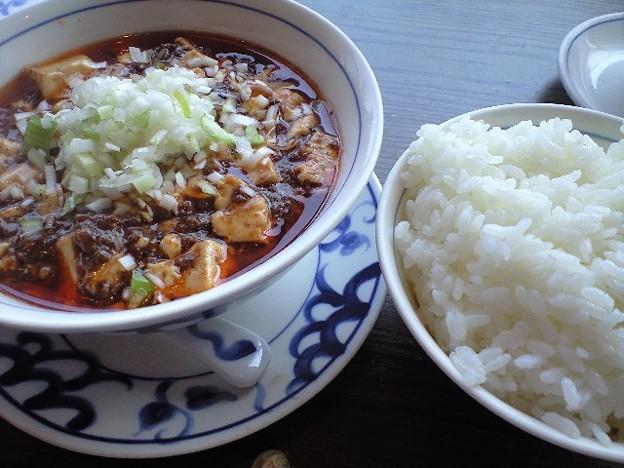 調布の和牛麻婆豆腐