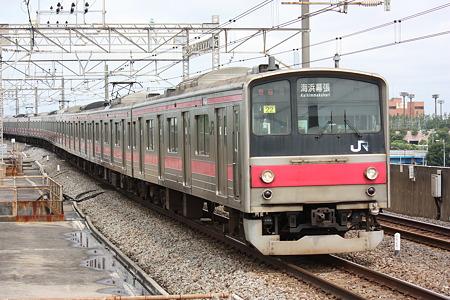 2010/06/27(日) 京葉線 205系電車[葛西臨海公園にて]