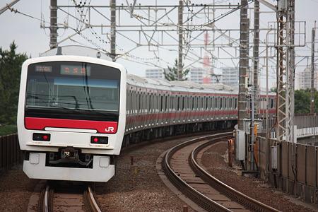 2010/06/27(日) 京葉線 E331系電車[稲毛海岸-検見川浜]