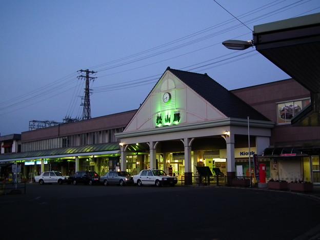 写真: MtsuyamaStation in the morning.