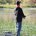 My Nephew at Kezar Lake