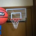 Photos: みなとみらいのオーソリティで室内用?バスケのバックボード 購入。...