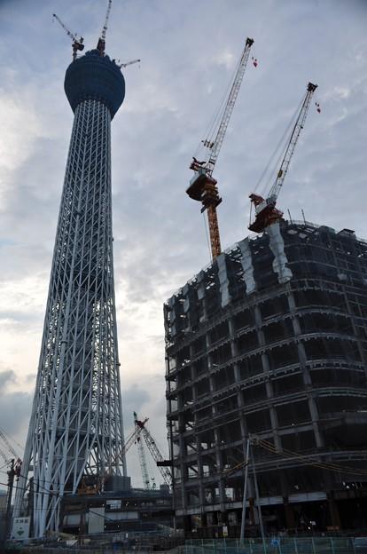 東京スカイツリー408m@京成橋から_DSC_1562