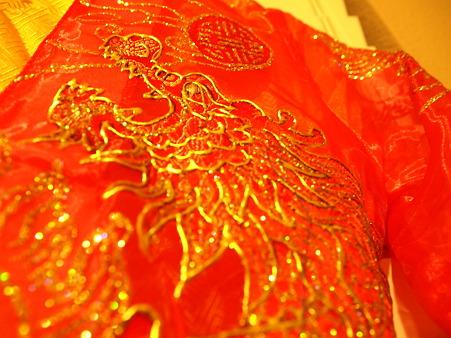 ベトナムの結婚式衣装4