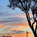 10月30日の夕景
