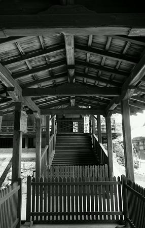 金剛寺の回廊