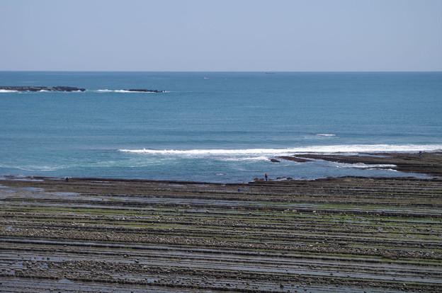 s8302_日南線車窓_鬼の洗濯岩
