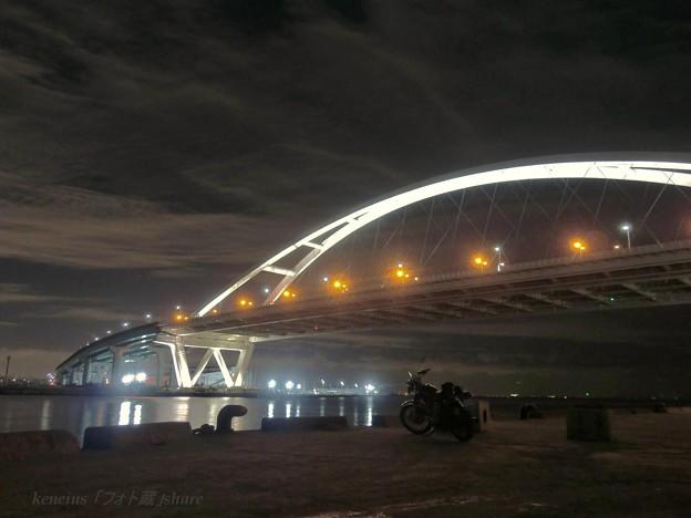 西宮港 おはし night