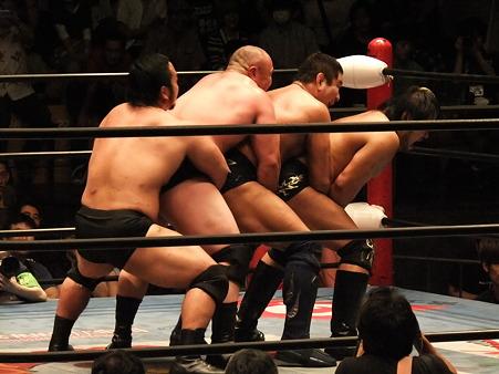 全日本プロレス 後楽園ホール 20110712 (35)