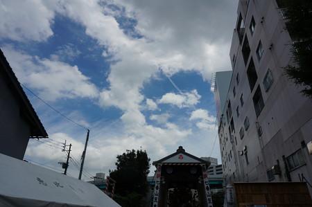 07 2014年 博多祇園山笠 恵比須流 舁き山 我者博多総鎮守 (1)