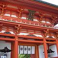 写真: 今宮神社楼門