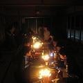 森のキャンプ2010消灯後