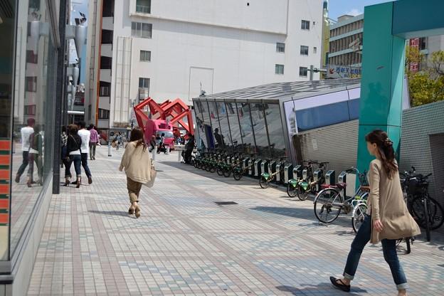 写真: G-1 アリスガーデン(西新天地)サイクルポート