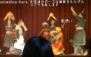 コブラの踊り