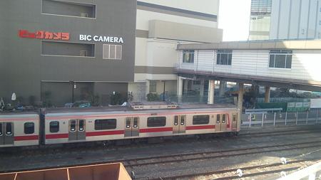 八王子駅に東急車両なぅ