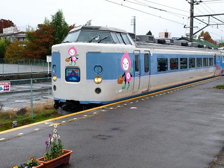 189系(富士吉田駅)4